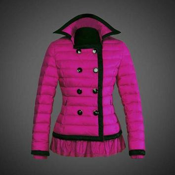 DCCK Moncler reduced Dali low collar quilted down jacket for women