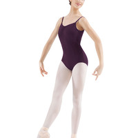 Adult Pinched Seamed Leotard (Blackberry) M210LD