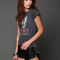 Free People Studded Leather Short
