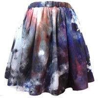 Pastel Nebula Summer Skirt