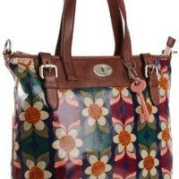Fossil Vintage Key-Per Tote