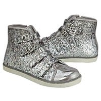 GLITTER OMBRE HIGH TOP SNEAKERS | GIRLS SNEAKERS SHOES | SHOP JUSTICE