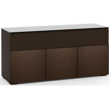 Berlin 65 Inch TV Stand Cabinet Soundbar Opening Wenge