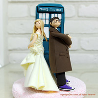 Doctor who wedding cake topper decoration gift keepsake