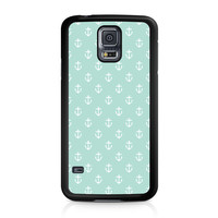 Mint Anchors Samsung Galaxy S5 case