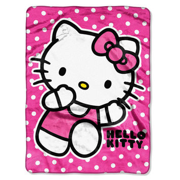 Hello Kitty Run Kitty 40x50 Blanket in Gift Box - Free Shipping in the Continental US!