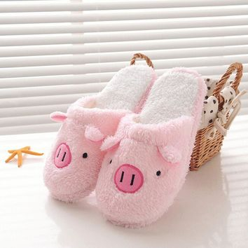 Winter Women Warm Slippers Indoor Home Shoes cotton Slipper