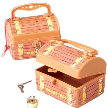 pirate treasure chest savings banks Case of 36