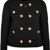 Boutique Moschino | Wool-crepe jacket | NET-A-PORTER.COM