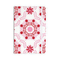 """Anneline Sophia """"Let's Dance Red"""" Pink Floral Everything Notebook"""