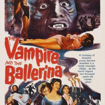 "Vampire And The Ballerina The Movie Poster 16""x24"""
