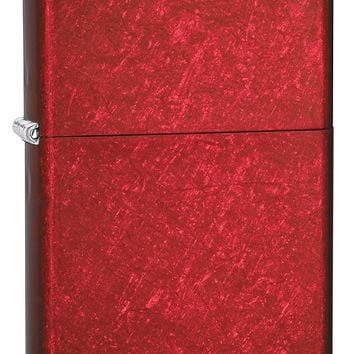 Zippo Candy Apple Red Finish Lighter