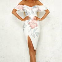 Dedication Dress White