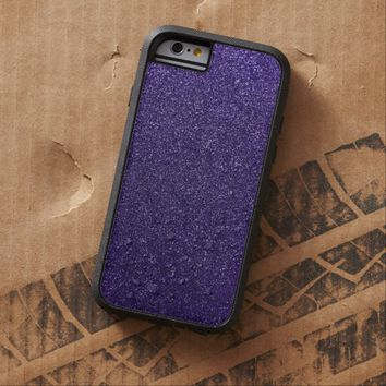 Cool Awesome Purple Glitter Tough Xtreme iPhone 6 Case