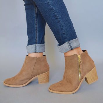 South Hampton Zipper Bootie