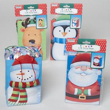 Christmas Treat Gift Bag - 2 Pack - 48 Units