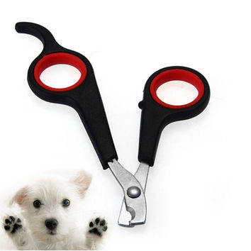 Pet Nail Claw Grooming Scissors Clippers For Dog Cat Bird Gerbil Rabbit Ferret For Small Dog Cats