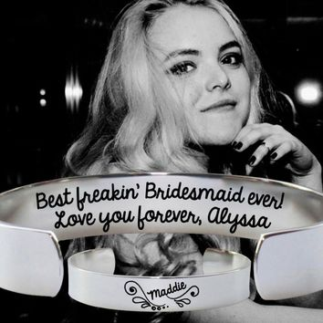 Best Bridesmaid Ever | Bridesmaid Gift