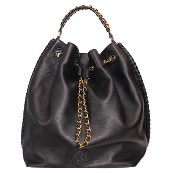 Tory Burch Marion leather bucket-backpack