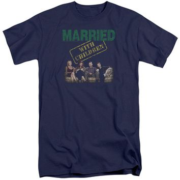 Married With Children - Vintage Bundys Short Sleeve Adult Tall