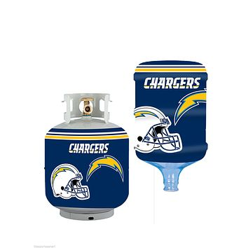 San Diego Chargers All In One Propane Tank /  5 Gallon Bottle Skin Cover