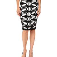 DSQUARED2 Geo Knit Skirt