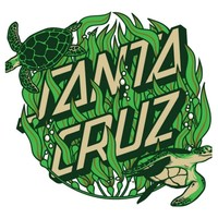 "Santa Cruz Skateboards 6"" Santa Cruz Kelp Dot Sticker"