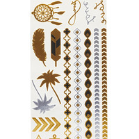 Metallic Temporary Tattoos | Wet Seal