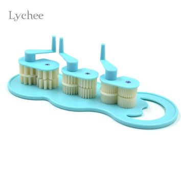 Lychee Art Paper Crafts Tool Quilling Crimper Tool Plastic Paper Rolling Machine