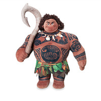 """Disney Store Maui from Moana 15"""" Plush New with Tags"""