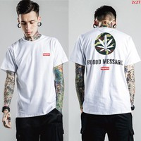 2017 New Fashion  Supreme T Shirts Short Sleeved For Men 289559