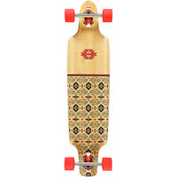 Globe Spearpoinnt Bamboo 41 Drop Through Longboard Complete at Zumiez : PDP