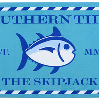 Skipjack Beach Towel in Waterfall by Southern Tide