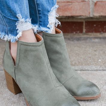 Inferno Booties - Sage