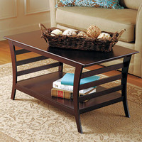 Walnut-Finish Table Collection