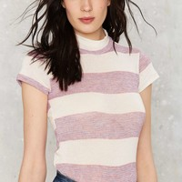After Party Vintage Start Me Up Striped Tee