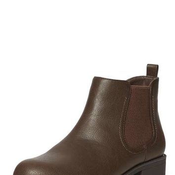 Chocolate 'May' chelsea boots - Boots - Shoes & Boots