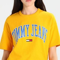 Tommy Jeans Print Logo Loose TEE T-shirt-6