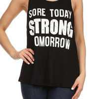 Strong Tomorrow - Black