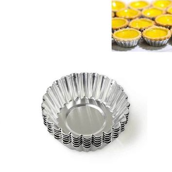 3Pcs Round Shape Cake Cupcake Liners Bakery Baking Mold Bakeware Muffin Egg Tart Mold Cake Cup Baking Pastry Accessories