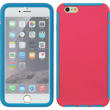 APPLE IPHONE 6 PLUS/6S PLUS FULL PROTECTION CASE BLUE TRIM W