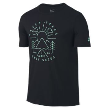 "Nike ""Green Trees Grey Skies"" City (Portland) Men's T-Shirt"