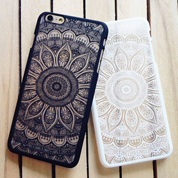 Vintage Lace Floral iPhone 5 5s iPhone 6 6s Plus Case Cover Free Shipping+ Free  Gift Box