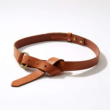 Knotted Leather Belt | LOFT