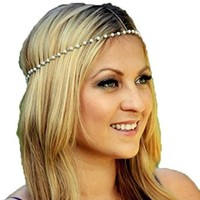 Fashion Grace Head Chain Simple Handmade Beads Hairband Headband
