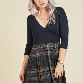 Science Fair Flair Twofer Dress | Mod Retro Vintage Dresses | ModCloth.com