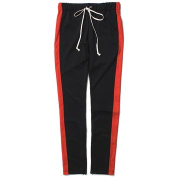 Track Pants Black / Red