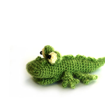 crochet CROCODILE, amigurumi crocodile doll, stuffed crocodile, little alligator, miniature crocodile, small alligator doll, gift for kids