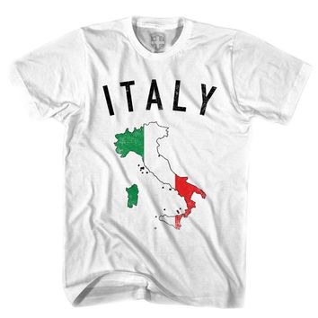 Italy Flag & Country T-shirt