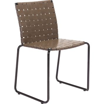 Beckett Outdoor Dining Chairs, Espresso (Set of 4)